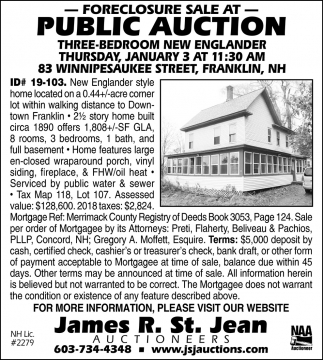 At Public Auction