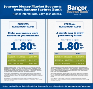 Journey Money Market Accounts