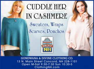Cuddle Her In Cashmere