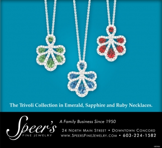 The Trivoli Collection In Emerald, Sapphire And Ruby