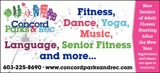 Language, Senior Fitness And More...