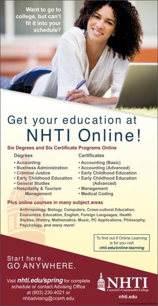 NHTI Online!
