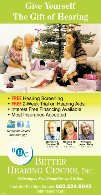 Give Yourself The Gift Of Hearing