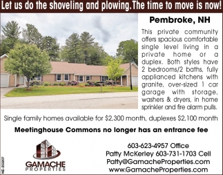 Meetinghouse Commons