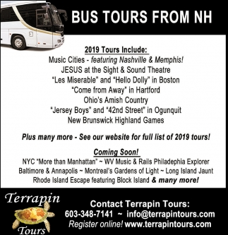 Bus Tours From NH