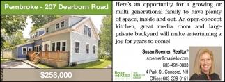 Pembroke - 207 Dearborn Road