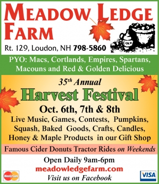35th Annual Harvest Festival