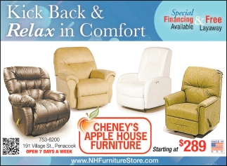 Kick Back & Relax In Comfort