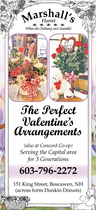 The Perfect Valentine's Arrangements
