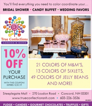 Outstanding 10 Off Your Purchase True Confections Candies Gifts Home Interior And Landscaping Ologienasavecom