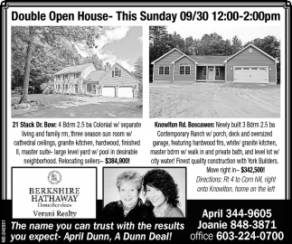 Double Open House