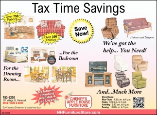 Tax Time Saving
