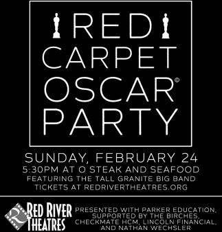 Red Carpet Oscar Party