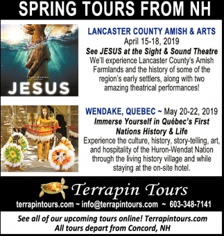 Spring Tours From NH