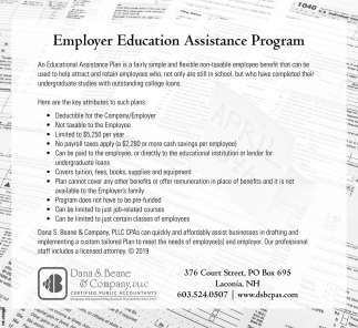 Employer Education Assistance Program