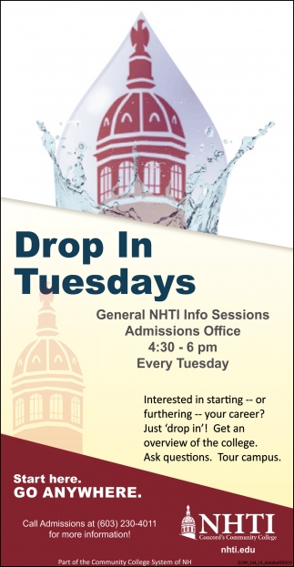 Drop In Tuesdays