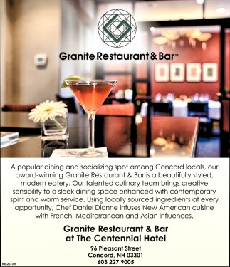 Granite Restaurant & Bar
