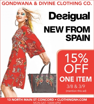 Desigual New From Spain