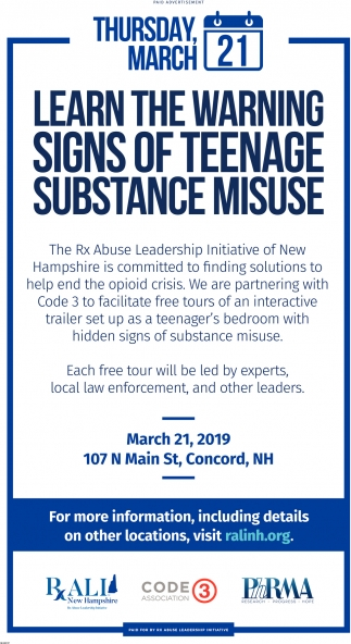Learn The Warning Signs Of Teenage Substance Misuse
