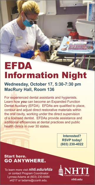 EFDA Information Night