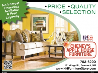 No Interest Financing Available Cheney S Apple House Furniture