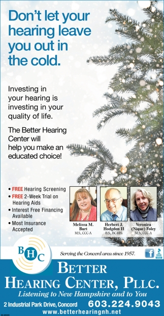 Don't Let Your Hearing Leave You Out In The Cold