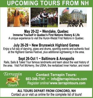 Upcoming Tours From NH