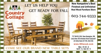 Let Us Help You Get Ready For Fall