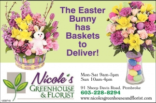 The Easter Bunny Has Basket To Deliver!