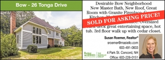 Sold For Asking Price