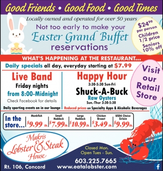 Easter Grand Buffet