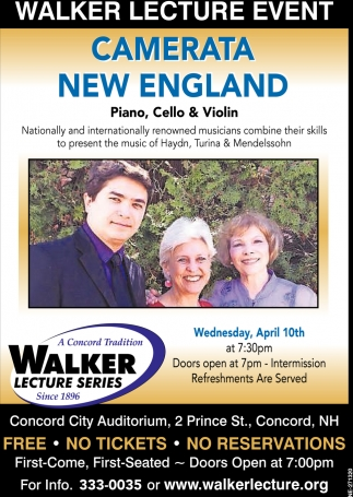 Walker Lecture Event