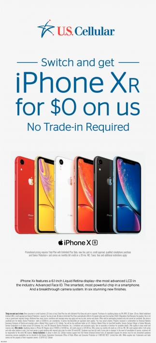 IPhone XR For $0 On Us