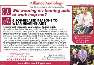 Will Wearing Hearing Aids At Work Help Me?