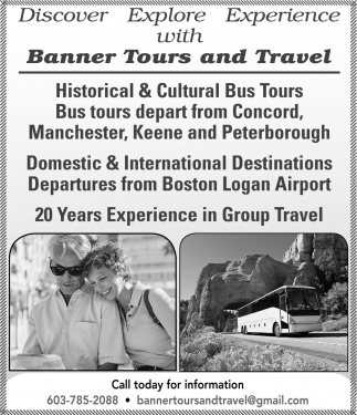 Discover Explore Experience With Banner Tours And Travel