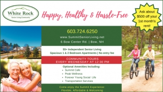 Happy, Healthy & Hassle- Free