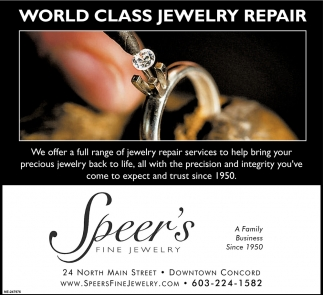 World Class Jewelry Repair