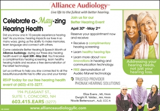 Celebrate A May-Zing Hearing Health