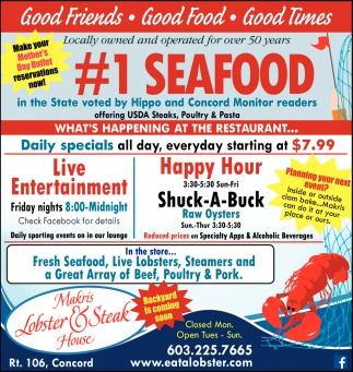 #1 Seafood
