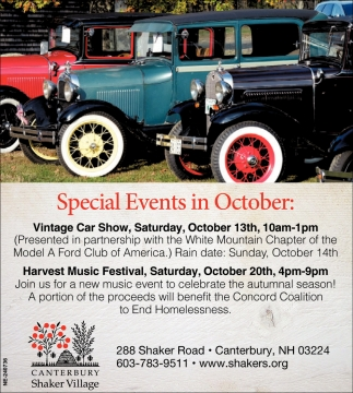Special Events In October