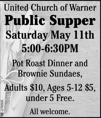 Public Supper
