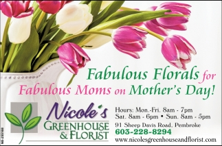 Fabulous Florals For Fabulous Moms On Mother's Day!
