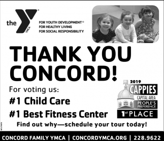 Thank You Concord!