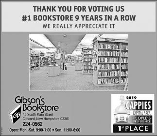 #1 Bookstore