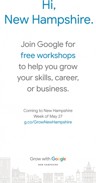 Join Google For Free Workshops