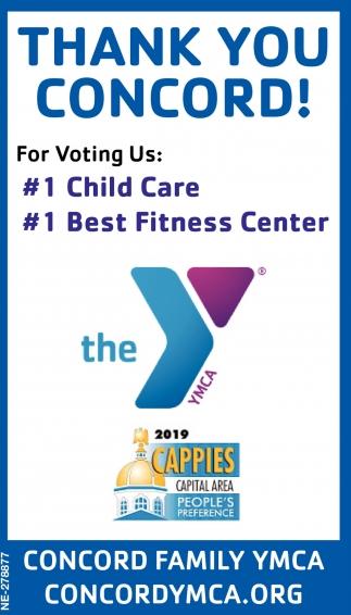 #1 Child Care #1 Best Fitness Center