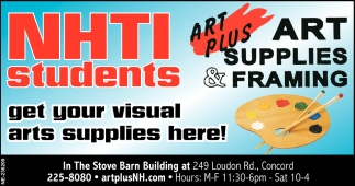 Get Your Visual Arts Supplies Here!