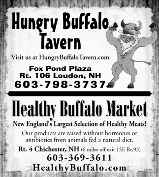 Healthy Buffalo Market