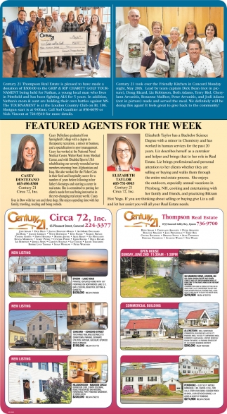 Featured Agents For The Week