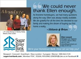 We Could Never Thank Ellen Enough